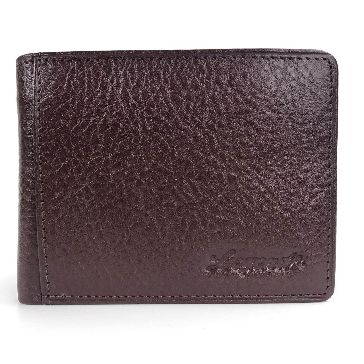 ราคา Chinatown Leather กระเป๋าหนังวัวแท้ ใบเล็ก สีน้ำตาล ราคาถูกที่สุด