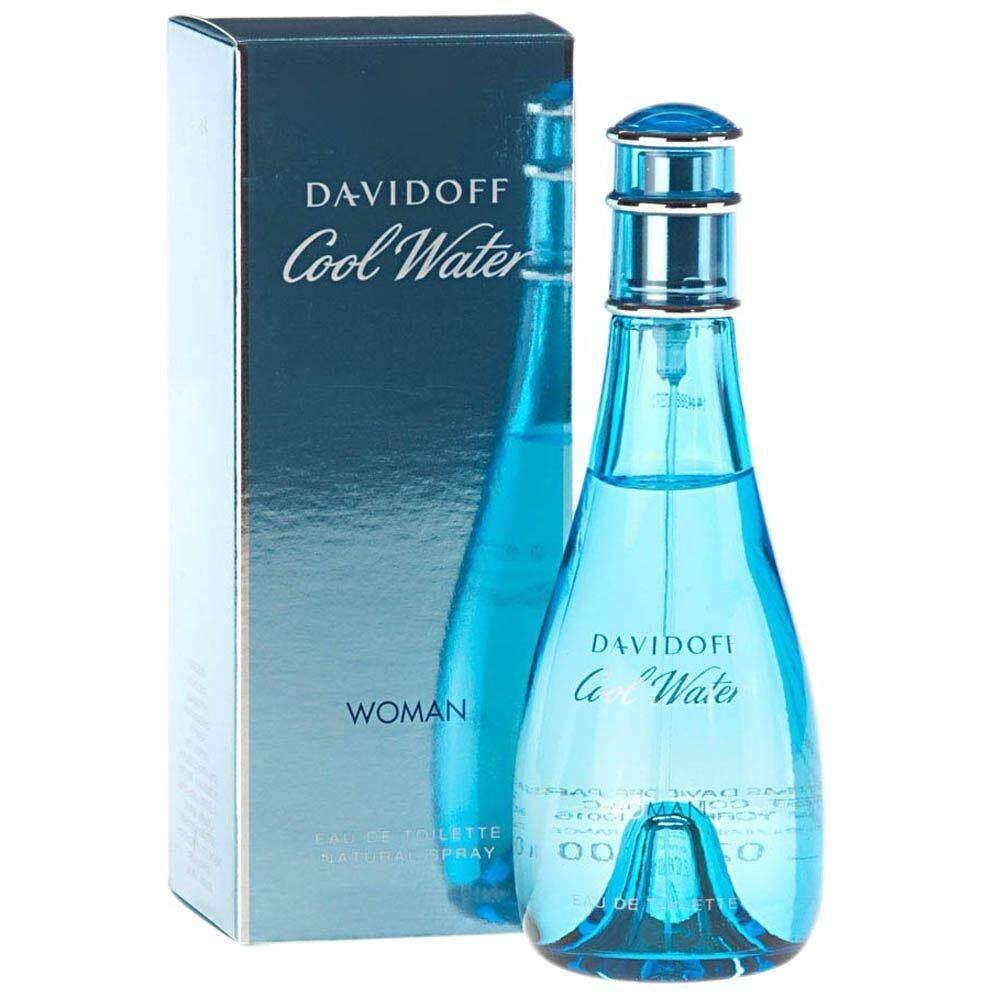 ราคา Davidoff Cool Water For Women 100 Ml พร้อมกล่อง