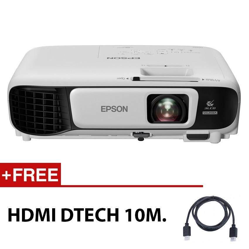 ราคา Epson Projector Eb U42 ความละเอียด Full Hd ความสว่าง 3 600 Ansi Lumens มี Wi Fi ในตัว Free Hdmi Dtech 10M ใหม่