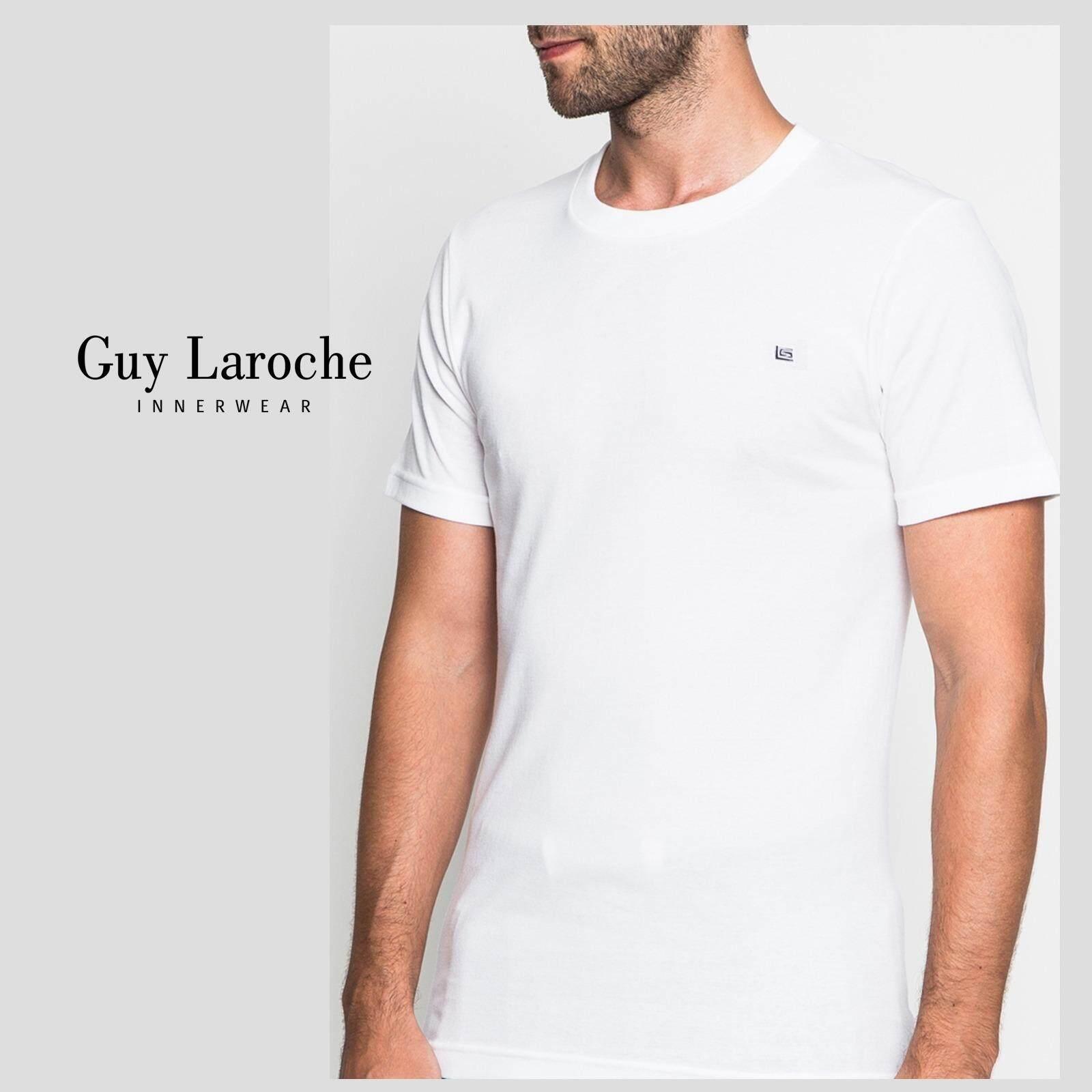 ราคา Guy Laroche เสื้อ T Shirt ผ้า 100 Cotton เนื้อนุ่มใส่สบาย เป็นต้นฉบับ