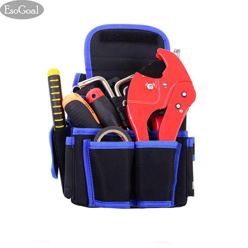 ทบทวน Esogoal Hardware Tool Kit Bag Water Resistant Waist Strap Tool Backpack Collection Esogoal