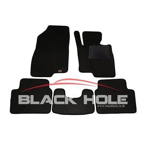 ราคา Blackhole Carmat พรมรถยนต์เข้ารูป 2 ชั้น Mazda 3 ปี 2014 ปัจจุบัน Black Rubber Pad รุ่น Jmam3Ybr สีดำ ถูก