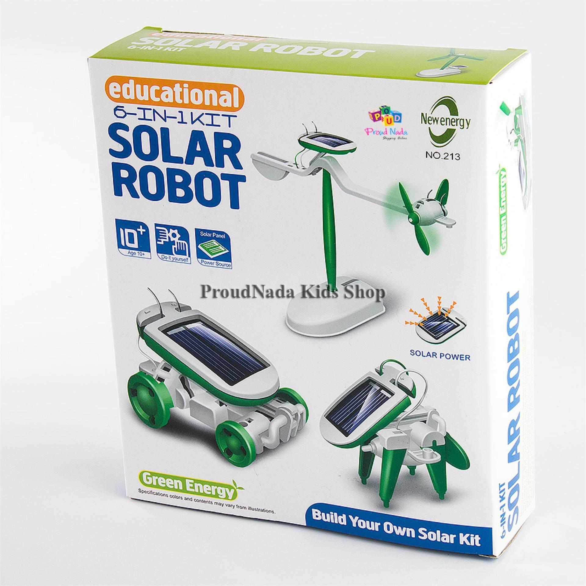ราคา Proudnada Toys ของเล่นเด็กชุดคิตหุ่นยนต์พลังงานแสงอาทิตย์ Solar Robot No 213 ออนไลน์