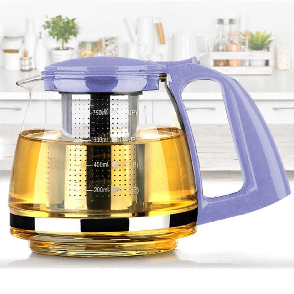 ขาย Tea Pot กาชงชา 750 Ml สีม่วง Unbranded Generic ใน กรุงเทพมหานคร