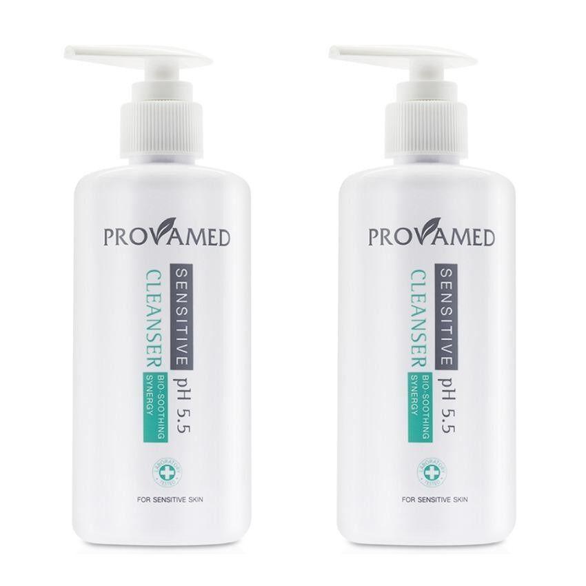 ขาย Provamed Sensitive Cleanser Ph 5 5 โปรวาเมด เซนซิทีฟ คลีนเซอร์ 260 Ml 2 ขวด ราคาถูกที่สุด