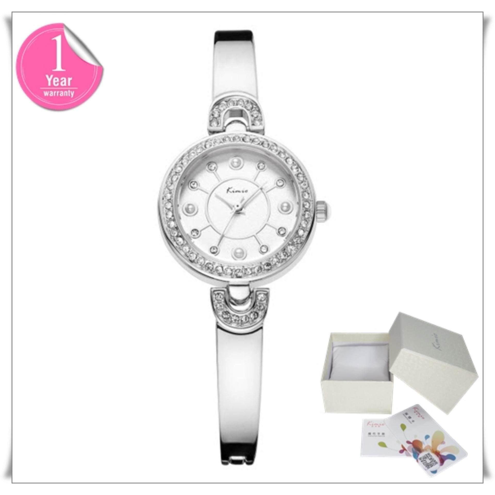 ขาย Kimio นาฬิกาข้อมือผู้หญิง สายสแตนเลส สีเงิน รุ่น Kw6130 ออนไลน์ สมุทรปราการ
