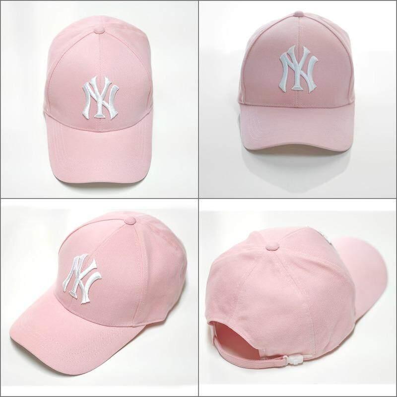 โปรโมชั่น หมวกแก๊ปแฟชั่นNy สีชมพู ไทย