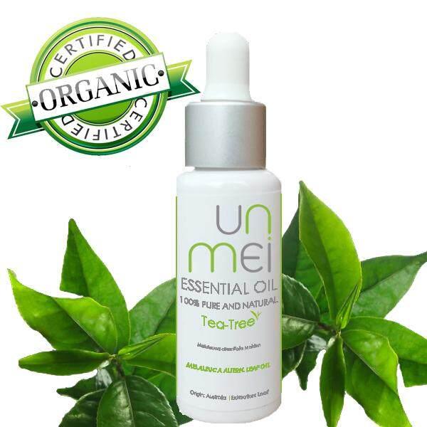 ขาย Unmei น้ำมันหอมระเหย ทีทรี Tea Tree Essential Oil บริสุทธิ์ 100 และอินทรีย์ Unmei เป็นต้นฉบับ