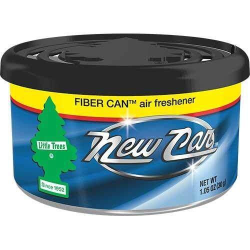 ราคา Little Trees แบบกระป๋อง Fiber Can กลิ่น New Car จำนวน 1 ชิ้น ที่สุด