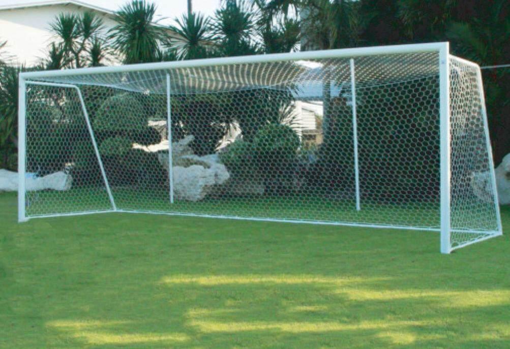 Fbt เสาประตูโกว์ฟุตบอลขนาดมาตรฐาน เหล็ก 4 นิ้ว/คู่ รหัส 57-301.