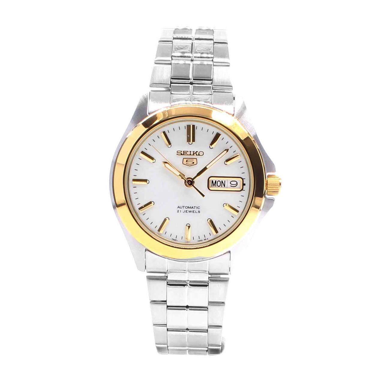 ขาย ซื้อ Seiko Watch 5 Automatic Silver Stainless Steel Case Stainless Steel Bracelet Mens Snkk96K1 ฮ่องกง