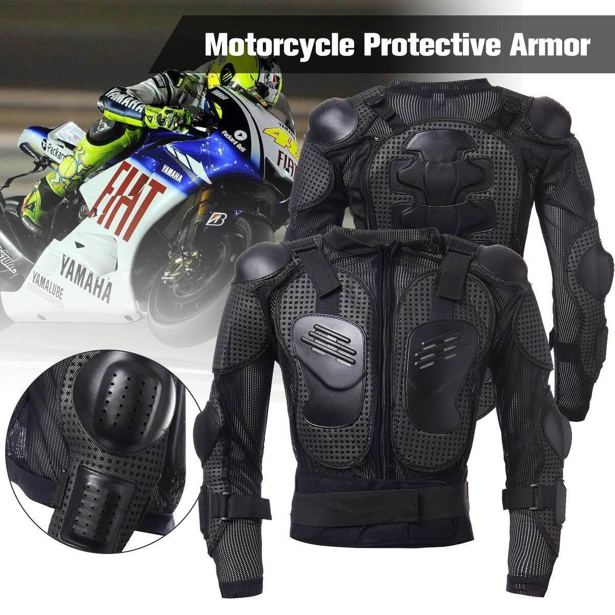 ซื้อ รถจักรยานยนต์เกราะป้องกันร่างกายเสื้อแบบไหล่หลังอกเฟืองขับ Xl ออนไลน์ ถูก