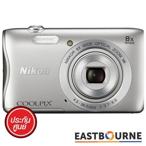 ขาย Nikon Coolpix A300 สีเงิน ไทย ถูก