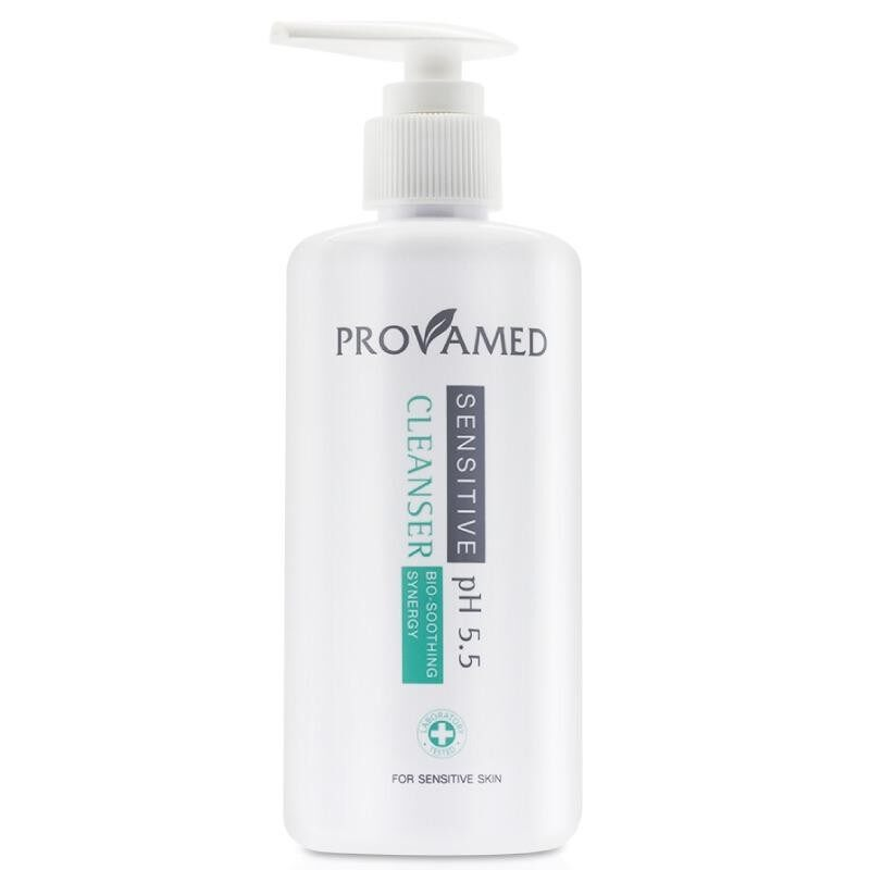 Provamed Sensitive Cleanser Ph 5 5 โปรวาเมด เซนซิทีฟ คลีนเซอร์ 260 Ml ใน จันทบุรี