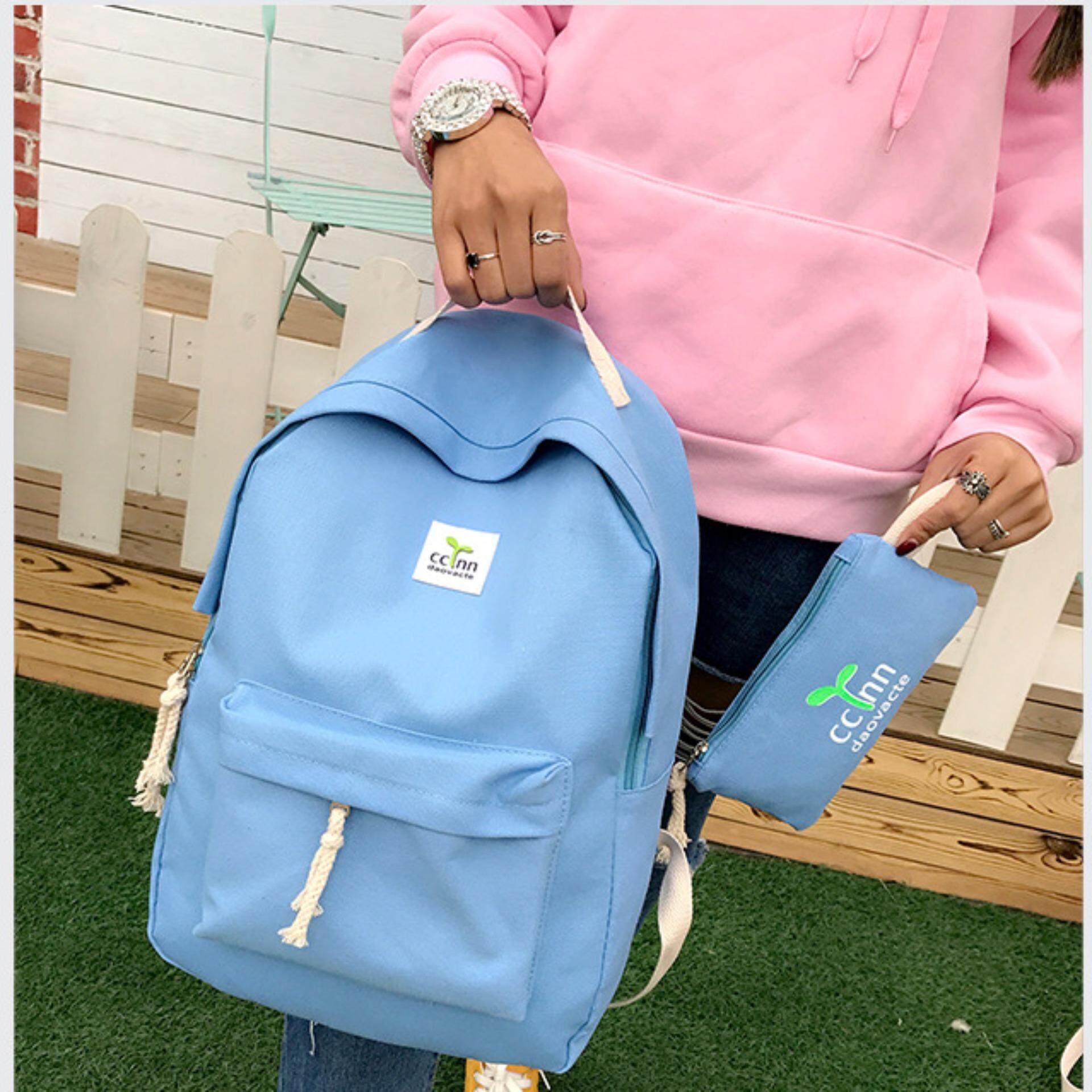 ราคา Lavelle 9256 การออกแบบเกาหลี คุณภาพระดับพรีเมียม แฟชั่น กระเป๋าเป้สะพายหลัง สีน้ำเงิน ใหม่