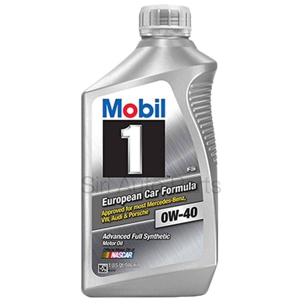 ส่วนลด สินค้า Mobil 1™ 0W 40 Fs European Car Formula จำนวน 1 ขวด