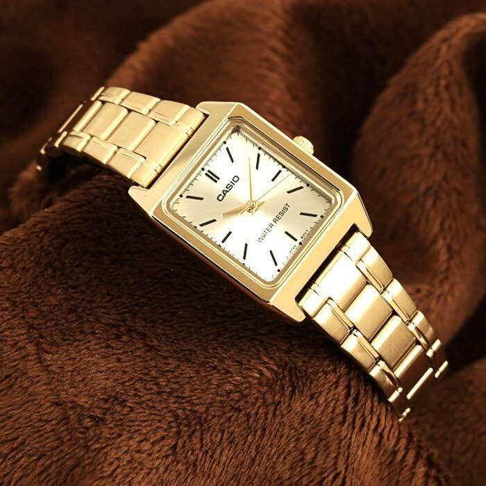 ขาย ขายดี Casio นาฬิกาผู้หญิง สายสแตนเลส รุ่น Ltp V007G 9E มั่นใจ ของแท้ ประกันศูนย์ ถูก กรุงเทพมหานคร