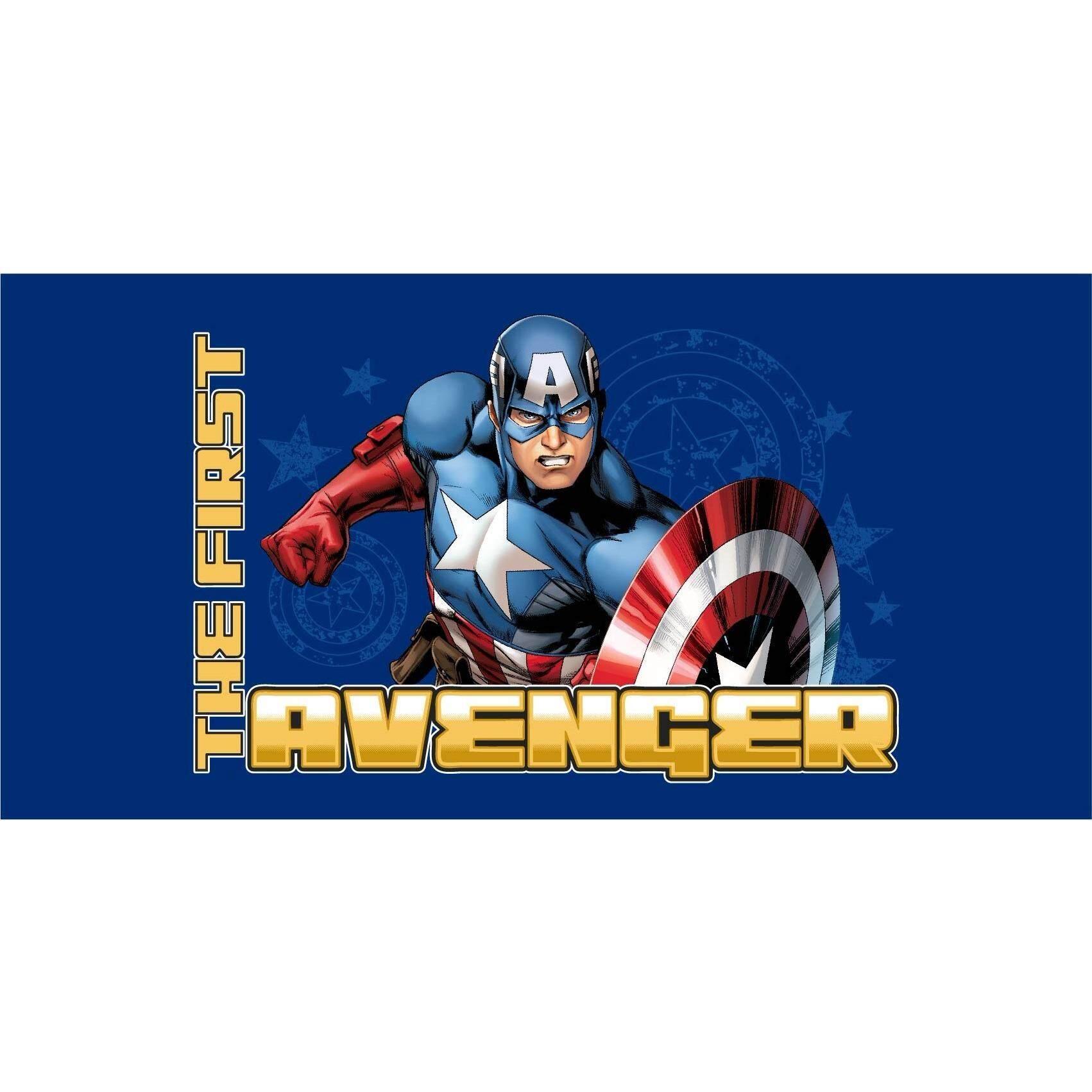 ขาย ซื้อ ออนไลน์ Marvel ผ้าขนหนู Captain America Avas1505 ขนาด 16 X 32 นิ้ว