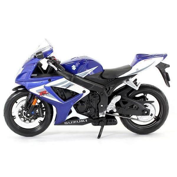 ขาย Maisto โมเดลมอเตอร์ไซค์ Suzuki Gsx R750 ขนาด 1 12 สีน้ำเงิน Maisto เป็นต้นฉบับ