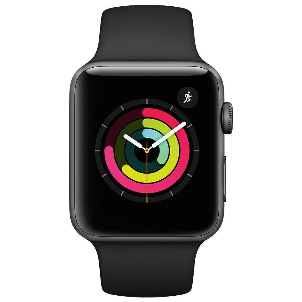 ส่วนลด Apple Watch Series 3 Gps 42Mm Space Grey Aluminium Case With Black Sport Band Apple ใน ไทย