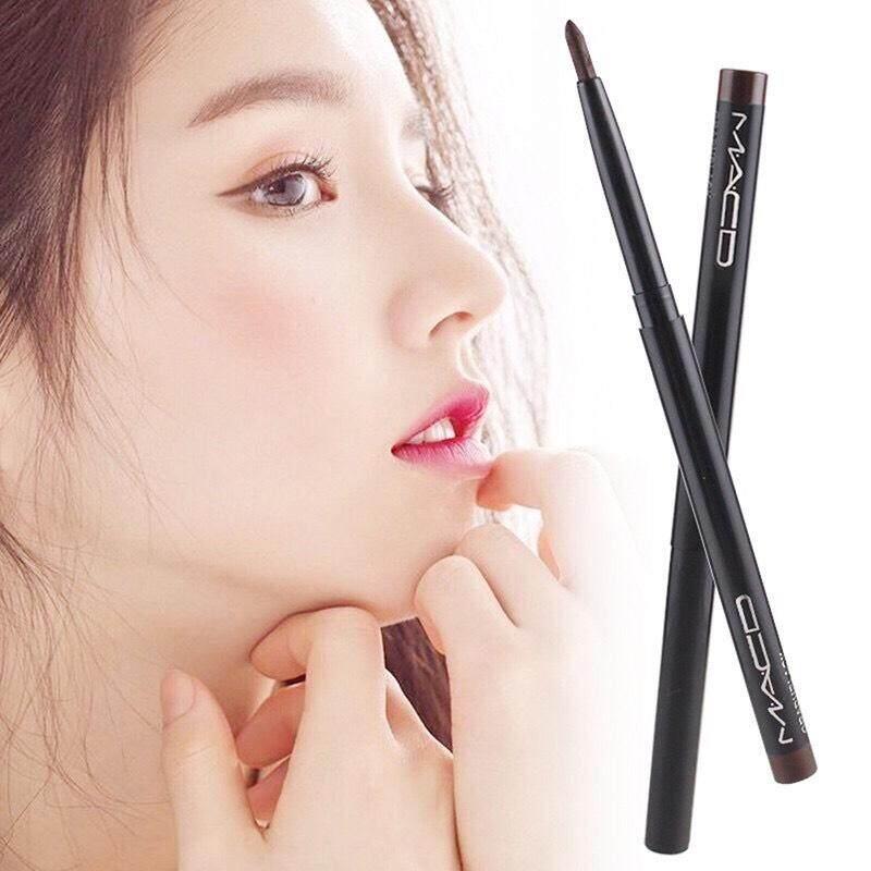 อายไลน์เนอร์ดินสอหมุนแบบอัตโนมัติ เนื้อเจลกึ่งครีมกันน้ำ Super Black Eyeliner Pencil With Vitamin A&e Waterproof กันน้ำค่ะ.