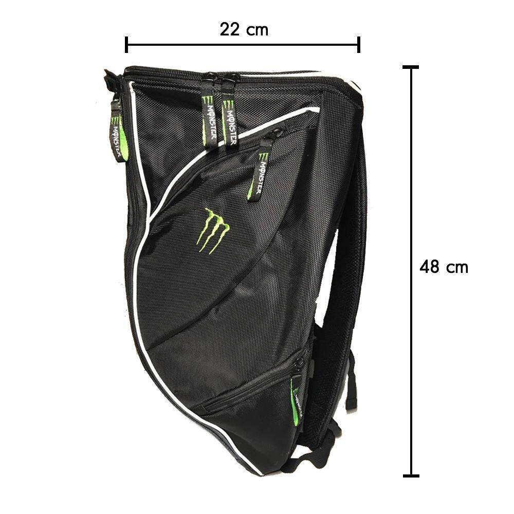 กระเป๋าเป้ Monster energy กระเป่าใส่หมวกกันน็อค กระเป๋าเป้ Bigbike