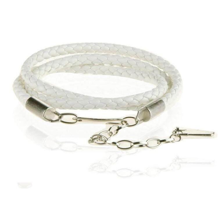ขาย Trusty เข็มขัดผู้หญิงแฟชั่น Woman Fashion Belt 121X สีขาว ใหม่