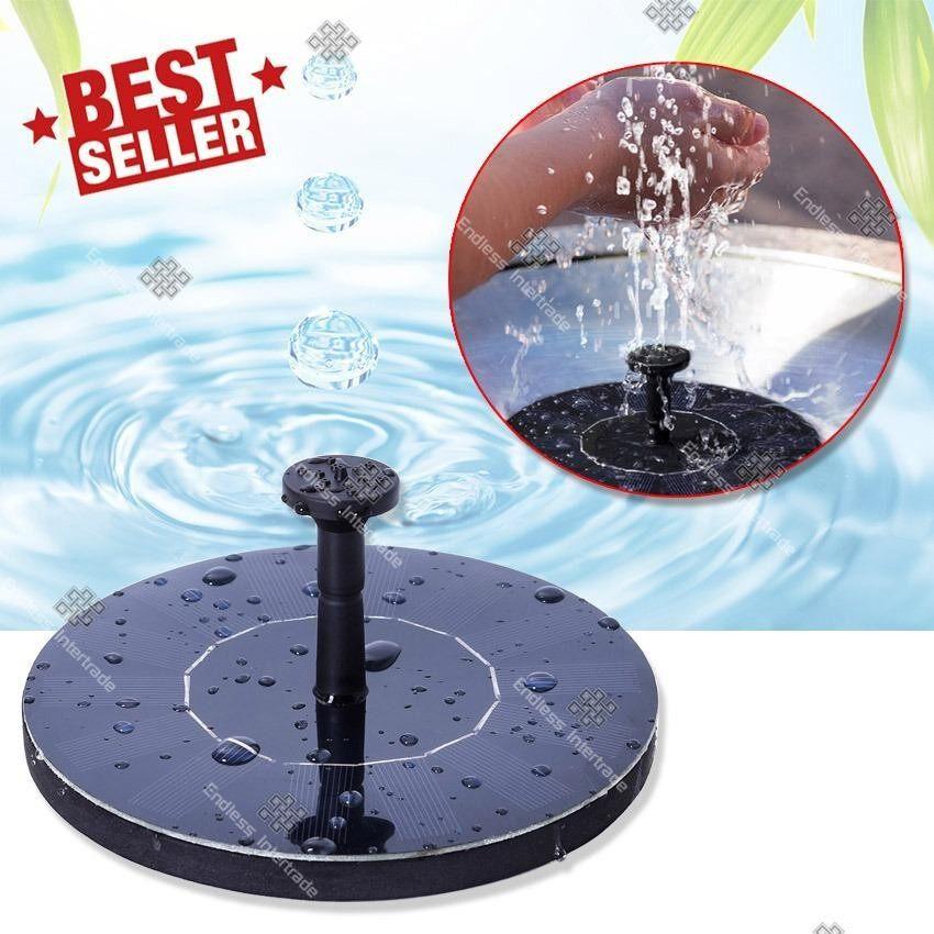 ซื้อ Elit น้ำพุกลางแจ้ง น้ำพุพลังงานแสงอาทิตย์ น้ำพุลอยน้ำได้ น้ำพุสำหรับน้ำตก Fountain Floating Solar รุ่น Jt 160F1