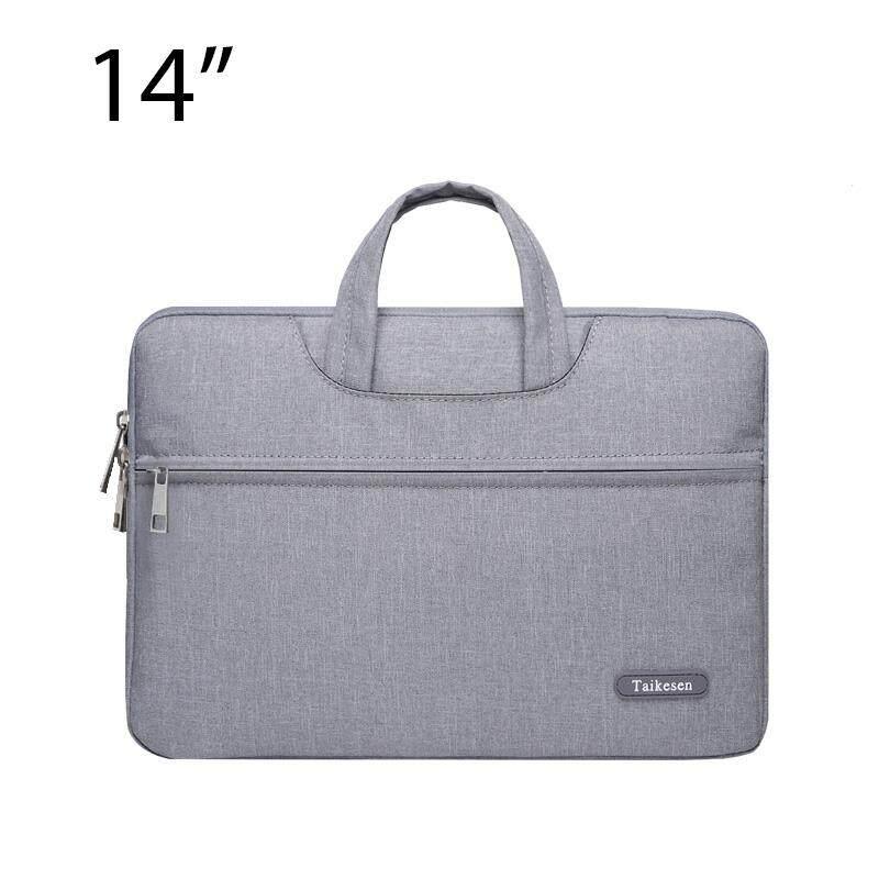 ขาย ซื้อ Lichto กระเป๋าถือ กระเป๋าใส่โน๊ตบุ๊ค Laptop กระเป๋าใส่เอกสาร ขนาด 14 15 นิ้ว Tks 01 ใน สมุทรปราการ