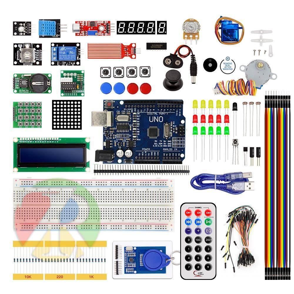 ขาย ชุดเรียนรู้ Rfid Basic Starter Kit สำหรับ Arduino เวอร์ชั่นอัปเกรด พร้อมกล่องใส่อุปกรณ์ 1 ชุด ถูก