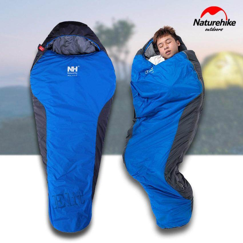 Elit ถุงนอน ถุงนอนสามเหลี่ยม ถุงนอนมัมมี่ ขนาด 210x83cm กันหนาวได้ 0 องศา
