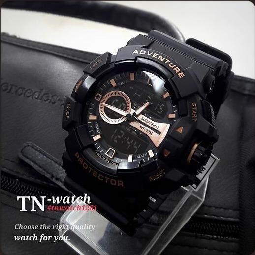 ซื้อ นาฬิกาผู้ชาย Us Submarine รุ่น Tp 3183M ดำทอง ออนไลน์ ถูก