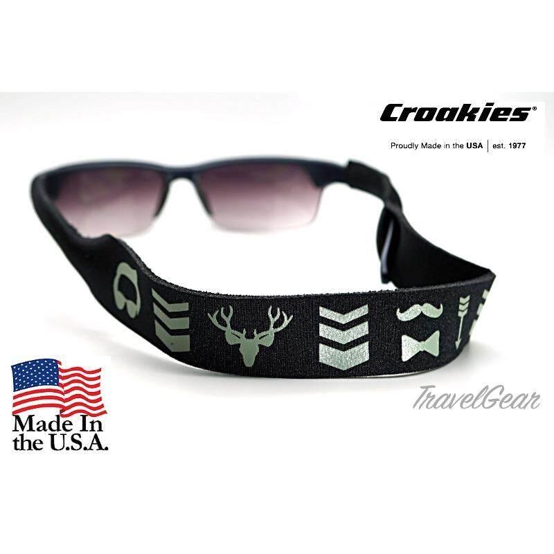 ซื้อ สายคล้องแว่น Croakies Xl รุ่น Hipster Croakies ถูก