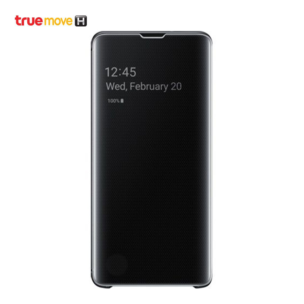 Samsung เคส สำหรับ Samsung S10+ รุ่น Clearview_cover.