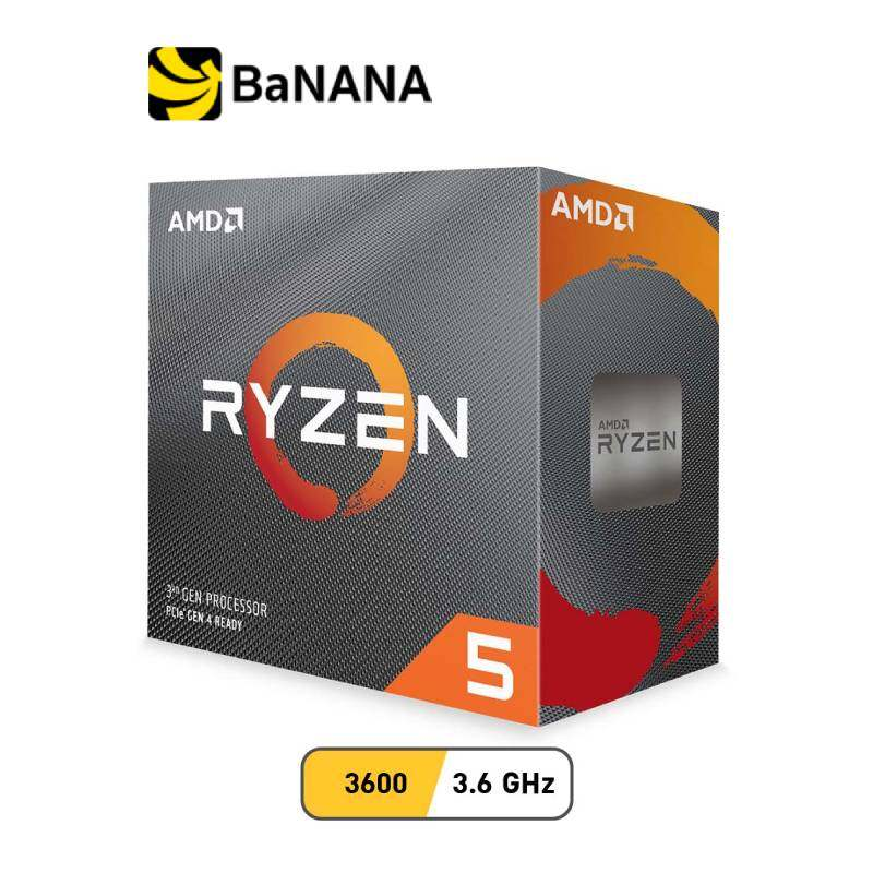 Amd Cpu Ryzen 5 3600 3.6ghz 6c/12t Am4 (gen3) By Banana It.