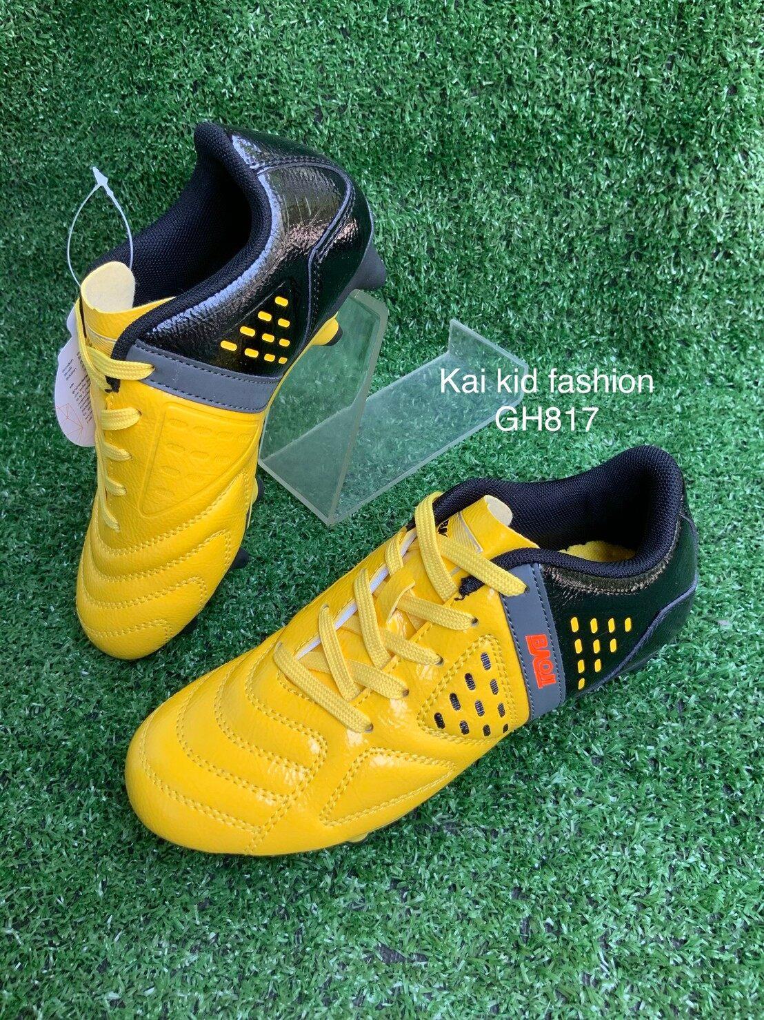รองเท้าสต๊ั๊ดเด็ก รองเท้าเด็ก ใส่ออกกำลังกาย แบรนด์ บาโอจิ baoji kid ของเเท้จากโรงงาน GH817