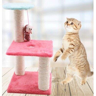 Boqi Factory คอนโดแมว ที่ฝนเล็บแมวสี่เหลี่ยม Jjm03sq.