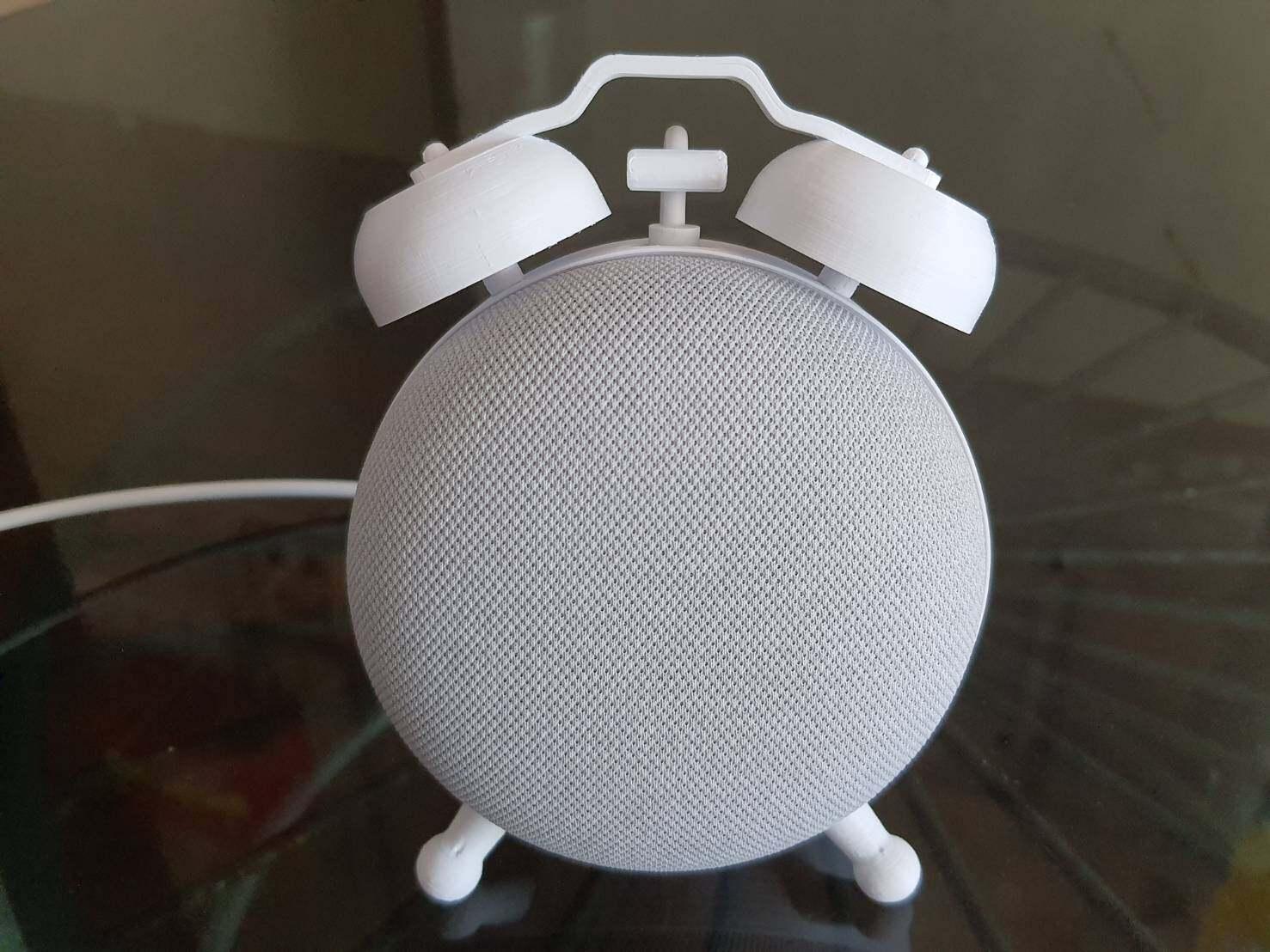 Cover case สำหรับ Google Home mini stand / google nest mini / google nest mini 2/stand กรอบ รูปทรงนาฬิกา google Home mini case google nest case