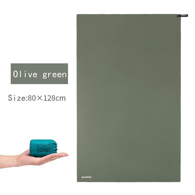 Naturehike Microfiber Magic ผ้าเช็ดตัวดูดซับผ้าสำลีชนิดนุ่ม Ecofriendly ผ้าแห้งเร็ว