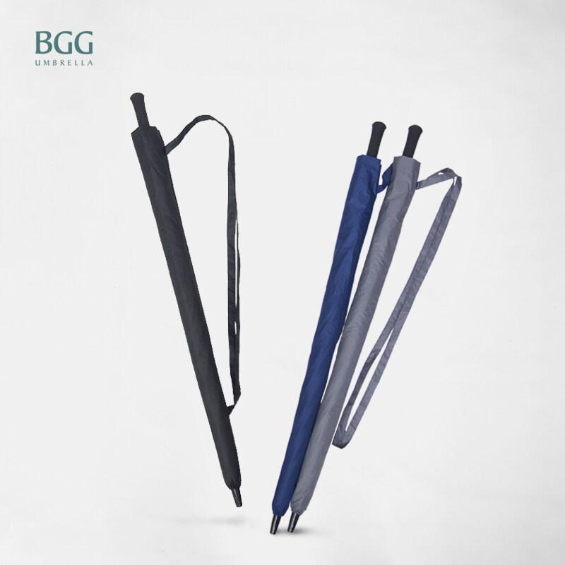 Bgg 30'' 100% Uv Cut Black Coating Auto Open Golf Umbrella (wa1029).