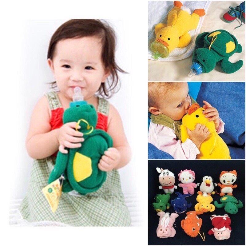 ตุ๊กตาสวมขวดนม ฝึกจับขวดนมได้ง่ายขึ้น พัฒนากล้ามเนื้อ.