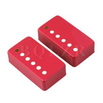 50/52mm Metal Humbucker Pickup Covers for Electric Guitar Set of 2Red - Intl