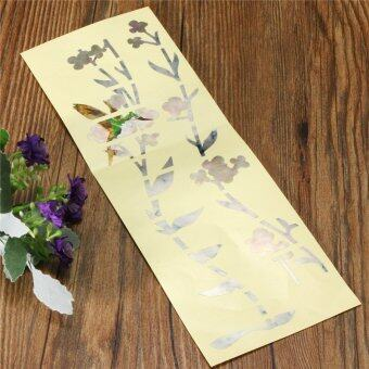Guitar Bass Inlay Sticker Fretboard Marker DIY Fret Decal Flowers and Plants - intl