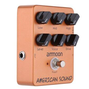 Harga ammoon AP-13 American Sound Amp Simulator Guitar Effect Pedal True Bypass