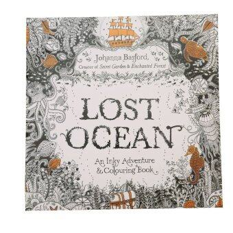 Harga HengSong Secret Garden Lost Ocean and Coloring Book (English) 12pages