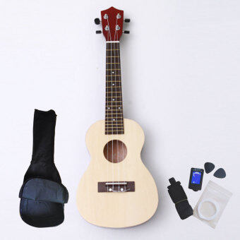 Harga Angesi 23 Inch 12 Colors Ukulele Musical Instrument Hawaiian Small Guitar (Wooden) - Intl