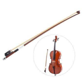 Harga Well-balanced Octagonal Brazilwood 4/4 Cello Bow Horsehair Round Stick Ebony Frog Outdoorfree - intl