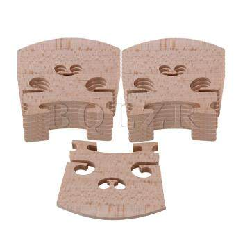 Harga Maple 4/4 Violin Fiddle Bridge Set of 15 Burlywood