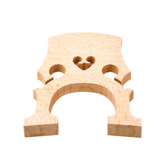 Harga 4/4 Size Cello Bridge Maple Exquisite Workmanship