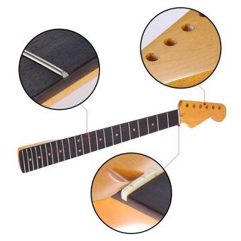 Harga Exquisite Gloss 22 Frets New Replacement Maple Neck Rosewood Fretboard Fingerboard for Fender ST?Strat Electric Guitar Outdoorfree - intl